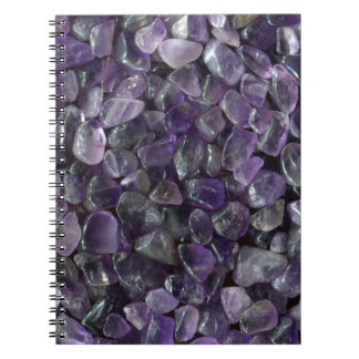 Patriciapotluck Smooth Purple Amethyst Note Books