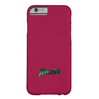 Patrick Colored iPhone 6 case