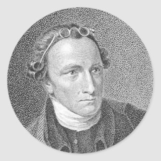 PATRICK HENRY QUOTE ROUND STICKERS
