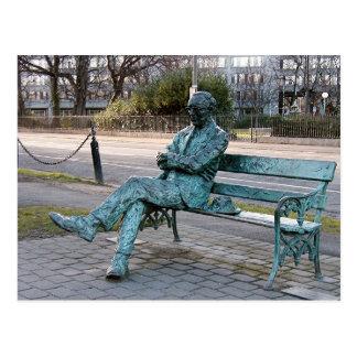 Patrick Kavenagh - Irish Poet Sculpture Post Card