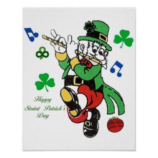 Patrick s day poster
