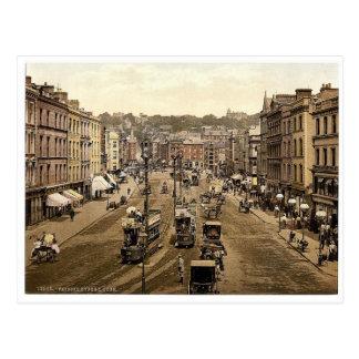 Patrick Street. Co. Cork, Ireland rare Photochrom Postcard