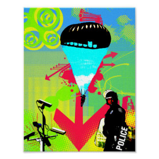 'Patriot Act' Canvas Poster