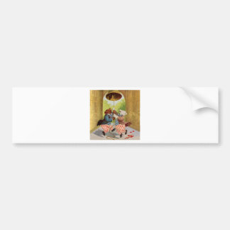 Patriot Bears Ring the Liberty Bell Bumper Sticker