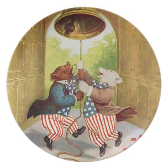 Patriot Bears Ring the Liberty Bell Plate