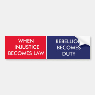 PATRIOT BUMPER STICKER