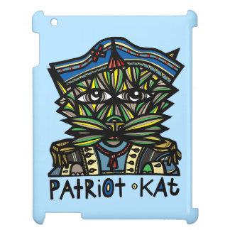 """Patriot Kat"" 631 Art iPad Case"