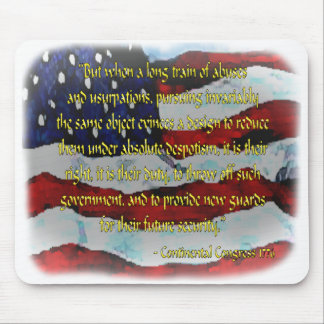 Patriot Mouse Pads: Independence Mouse Mat
