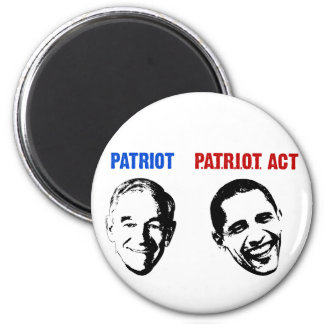 Patriot / Patriot Act 6 Cm Round Magnet