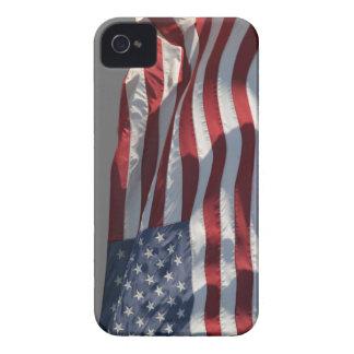 Patriot Pride - The American Flag iPhone 4 Case-Mate Cases