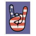 Patriot Rock Hand Postcard