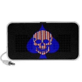 Patriot Skull Travel Speaker