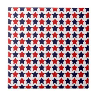 Patriot Stars Ceramic Tile