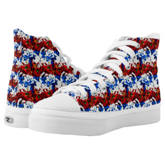 Patriot Stripes High Tops