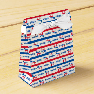 Patriotic 2020 Democrat Donkey Stripes Favour Box