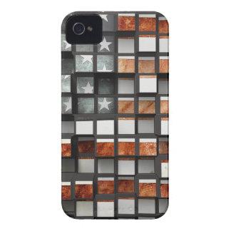 Patriotic 3D American Flag iPhone 4 Covers