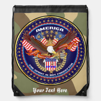Patriotic 4th July View About Design Backpacks