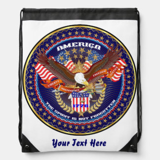 Patriotic 4th July View About Design Cinch Bag