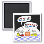 Patriotic 4th of July Funny Fridge Magnet