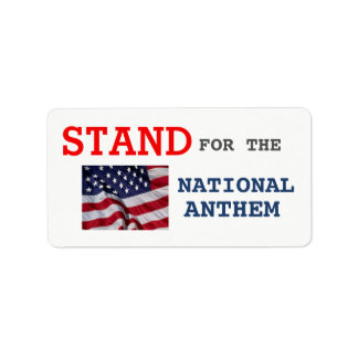 PATRIOTIC ADDRESS LABELS