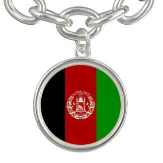 Patriotic Afghan Flag