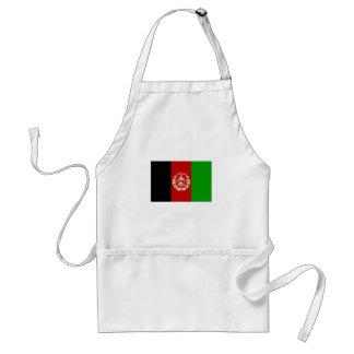 Patriotic Afghan Flag Standard Apron