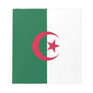 Patriotic Algerian Flag Notepad