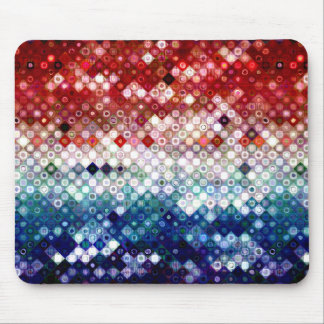 Patriotic America Collage Mouse Pad