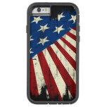 Patriotic America Grunge Flag iPhone 6 Case