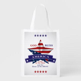 Patriotic America Star Design (v3)