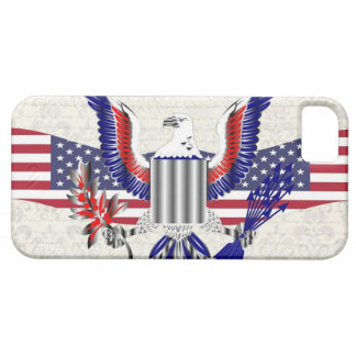 Patriotic American eagle Barely There iPhone 5 Case