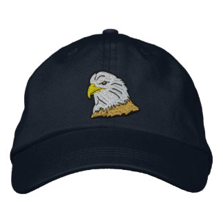 Patriotic American Eagle Cap Embroidered Hat