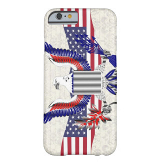 Patriotic American eagle Barely There iPhone 6 Case