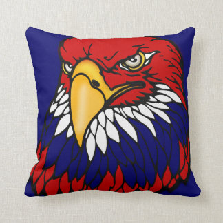 Patriotic American eagle Throw Pillows