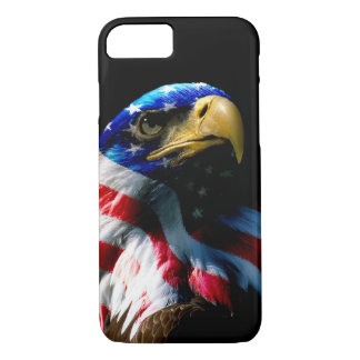 Patriotic American Eagle iPhone 8/7 Case