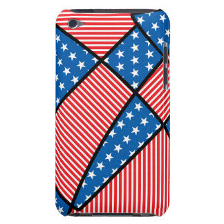 Patriotic American fireworks Barely There iPod Covers