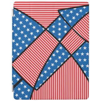 Patriotic American fireworks iPad Cover