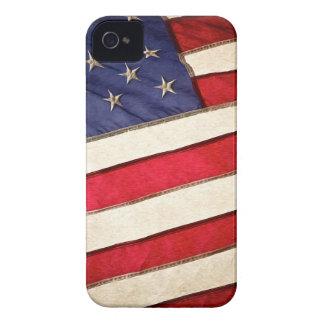 Patriotic American Flag Case-Mate iPhone 4 Cases