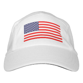 Patriotic American flag knit or woven sports hats Hat