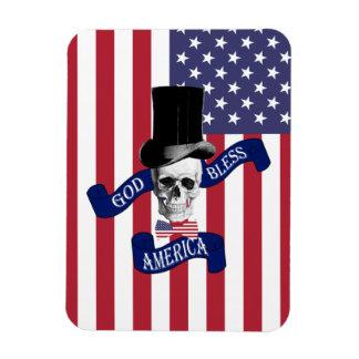 Patriotic American flag Flexible Magnets