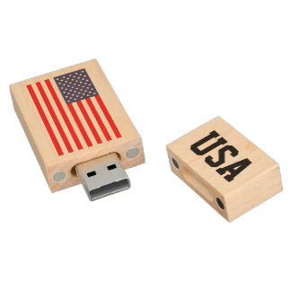 Patriotic American flag USB pendrive flash drive