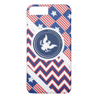 Patriotic American Flag with Eagle iPhone 7 Plus Case