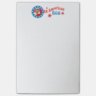 Patriotic American Foxhound Post-it® Notes