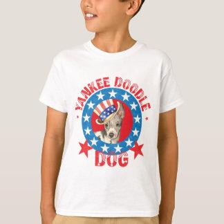 Patriotic American Hairless Terrier T-Shirt