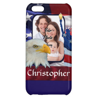 Patriotic American Icon photo template Case For iPhone 5C