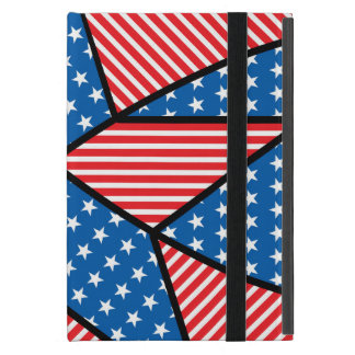 Patriotic American star iPad Mini Cover