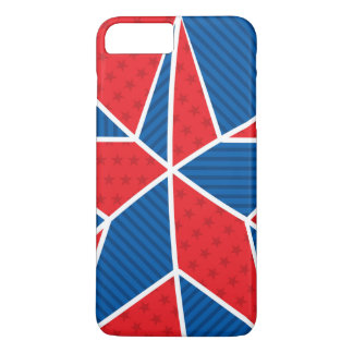 Patriotic American star iPhone 8 Plus/7 Plus Case
