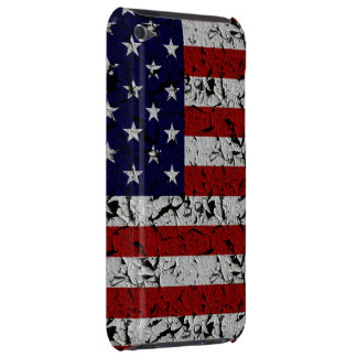 Patriotic American U.S.A. Flag of United States iPod Touch Case