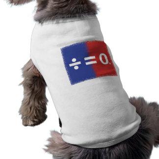 Patriotic American Unity Symbol Sleeveless Dog Shirt