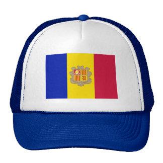 Patriotic Andorra Flag Cap